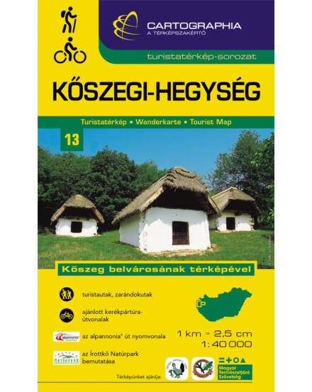 Cartographia  - Kőszegi-hegység turistatérkép [13]