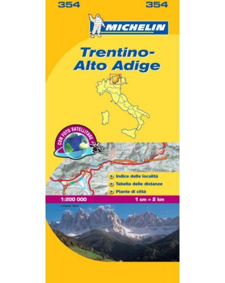 Cartographia  - Trentino Alto Adige 354 Michelin