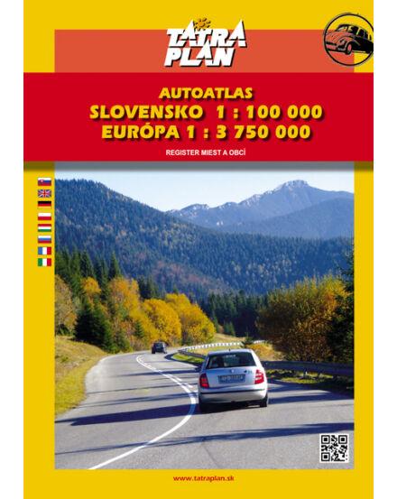 Cartographia  - Szlovákia, Európa autóatlasz