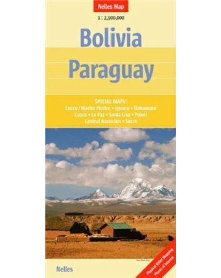 Cartographia  - Bolívia/Paraguay térkép