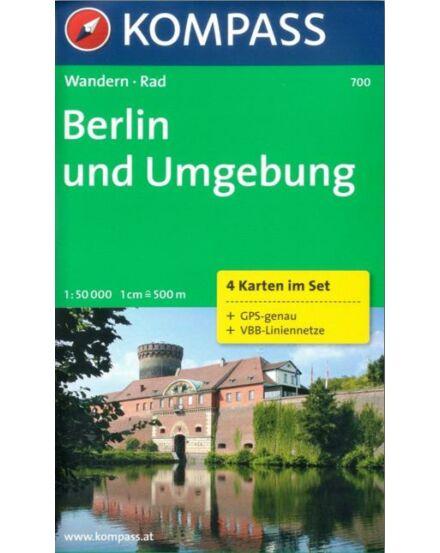 Cartographia  - K 700 Berlin és környéke turistatérkép