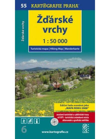 Cartographia  - Zďárské vrchy turistatérkép