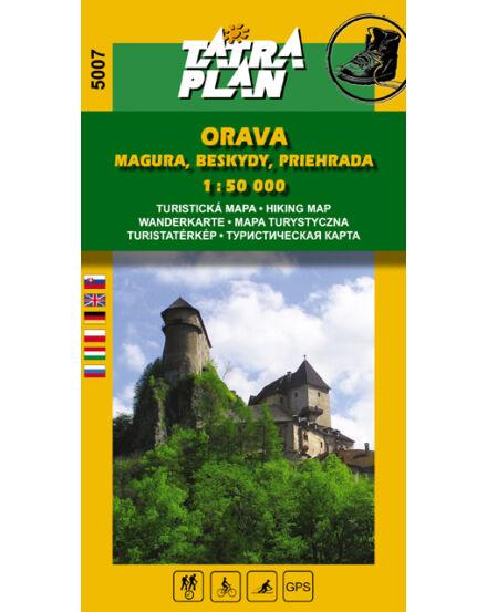 Cartographia  - TP5007 Árvai Magura, Beszkidek turistatérkép
