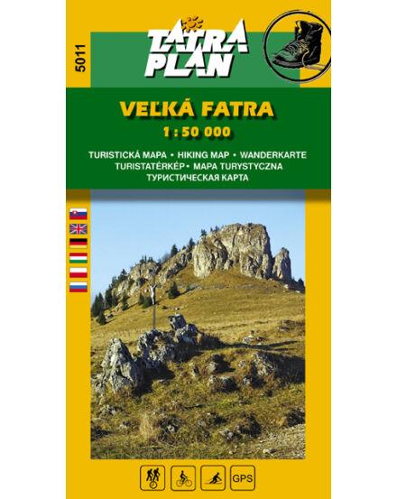 Cartographia  - TP5011 Nagy-Fátra turistatérkép