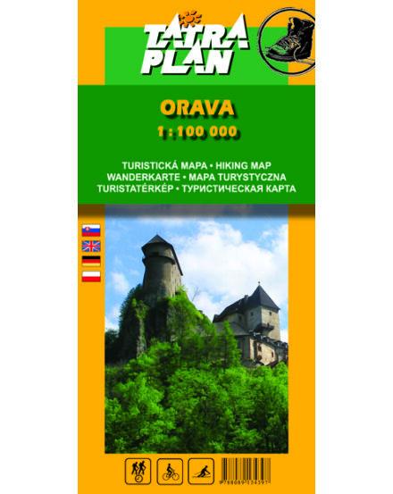 Cartographia  - TP Árva (Orava) turistatérkép