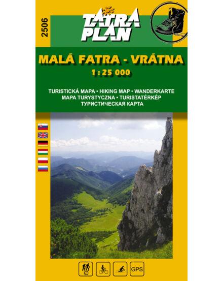Cartographia  - TP2506 Kis-Fátra, Vrátna turistatérkép