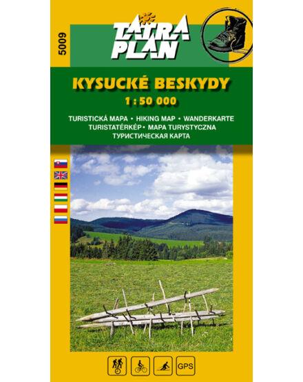 Cartographia  - TP5009 Kiszucai-Beszkidek turistatérkép