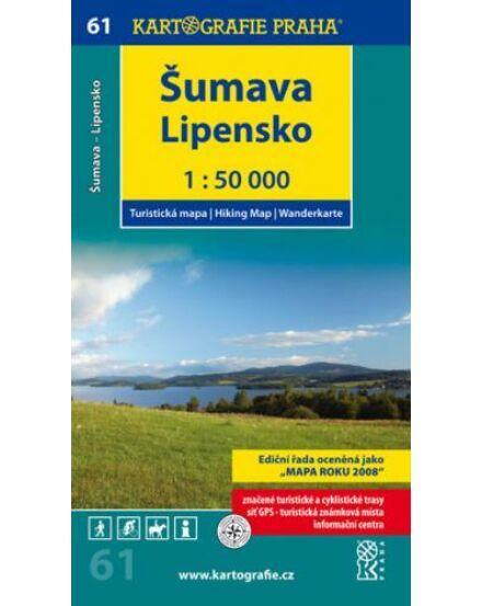 Cartographia  - TM 61 Sumava - Lipensko turistatérkép