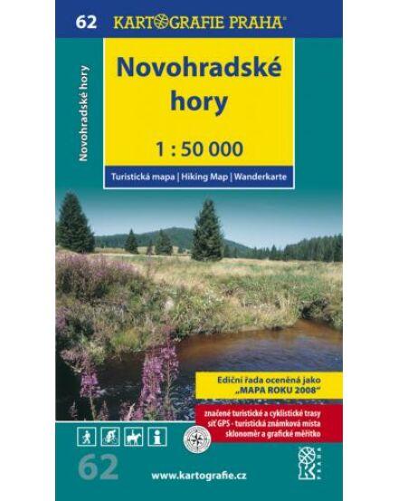Cartographia  - TM 62 Novohradské hory turistatérkép