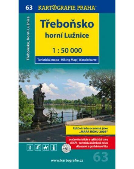 Cartographia  - TM 63 Trebon, Luznice