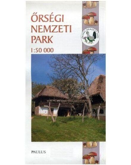 Cartographia  - Őrségi Nemzeti Park térkép