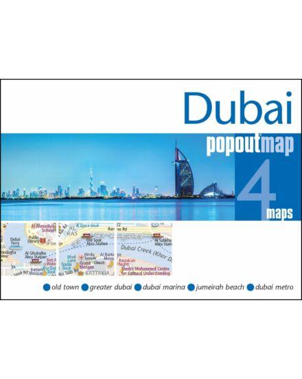 Cartographia  - Dubai PopOut várostérkép