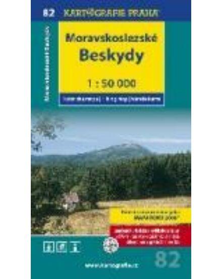 Cartographia  - TM 82 - Moravskoslezské Beskydy