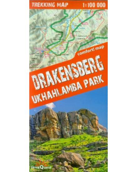 Cartographia  - Drakensberg, Ukhahlamba Park trekking térkép