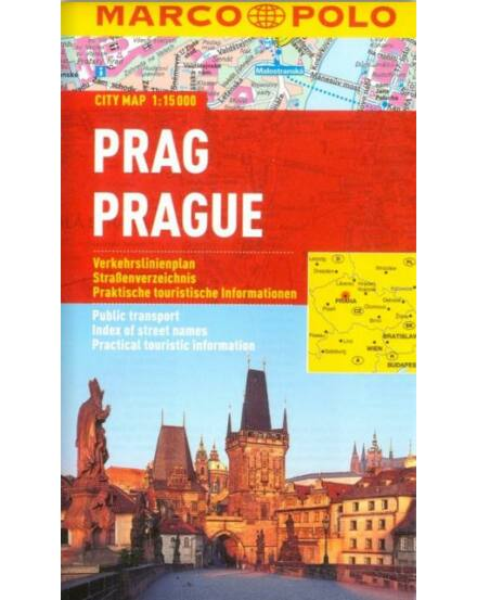 Prága várostérkép (Marco Polo)