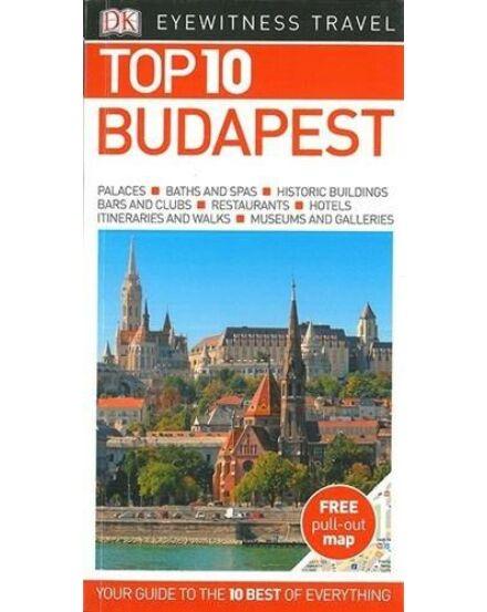 Budapest útikönyv TOP 10 (angol)