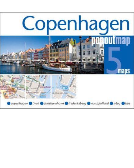 Cartographia  - Koppenhága PopOut várostérkép
