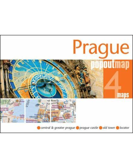 Cartographia  - Prága PopOut várostérkép