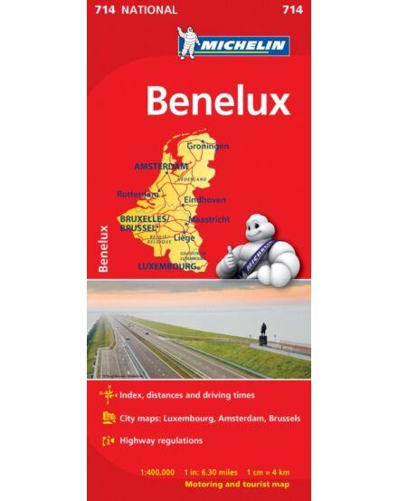 Cartographia  - Benelux államok térkép (714)