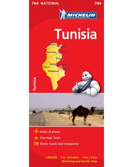 Cartographia  - Tunézia térkép (744)