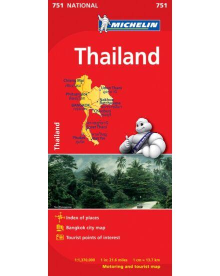 Cartographia  - Thaiföld térkép (751)