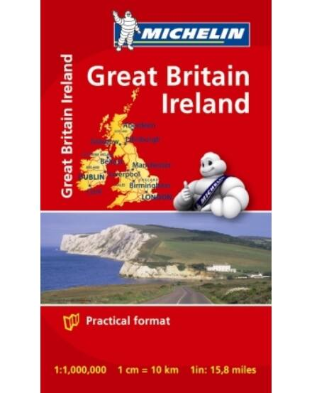 Cartographia  - Nagy-Britannia és Írország mini térkép