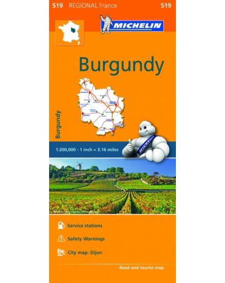 Cartographia  - Burgundia térkép