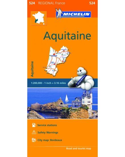 Cartographia  - Aquitania régiótérkép