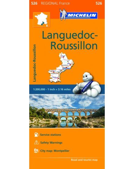 Cartographia  - Languedoc Roussillon régiótérkép