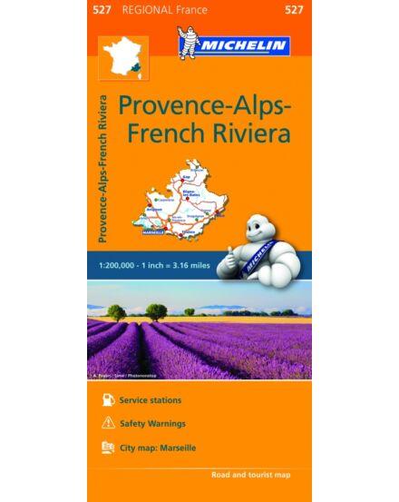 Cartographia  - Provence-i Alpok, Francia Riviéra régiótérkép (527)