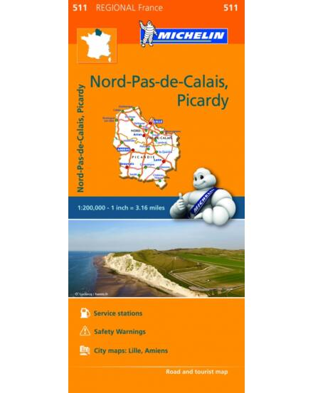 Cartographia  - Észak-Franciaország (Nord Pas de Calais/Picardie) (0511)