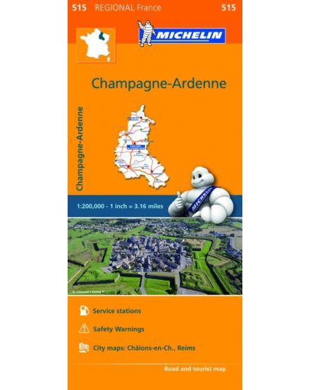 Cartographia  - Champagne-Ardenne régiótérkép (515)