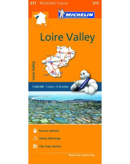 Cartographia  - Loire-vidék régiótérkép (517)