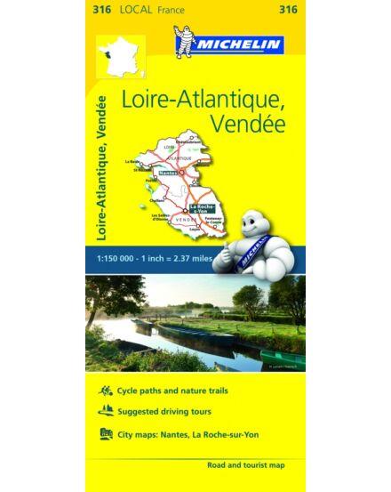 Cartographia  - Loire-Atlantique , Vendee  résztérkép