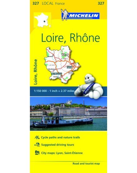 Cartographia  - Loire , Rhone résztérkép