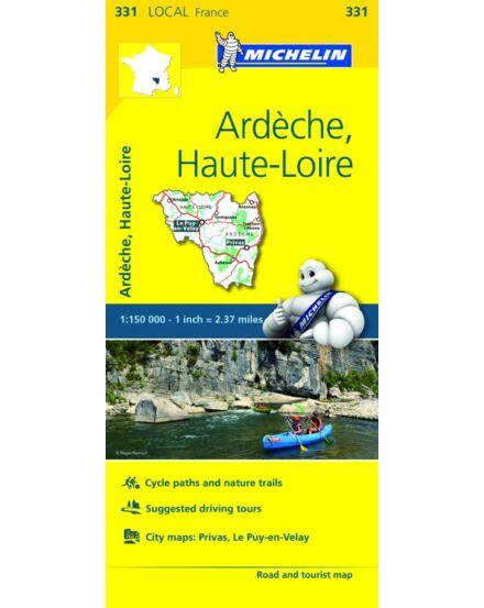 Cartographia  - Ardeche , Haute-Loire résztérkép