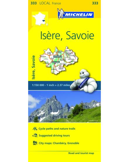 Cartographia  - Isere/Savoie (Savoya) 333 Michelin