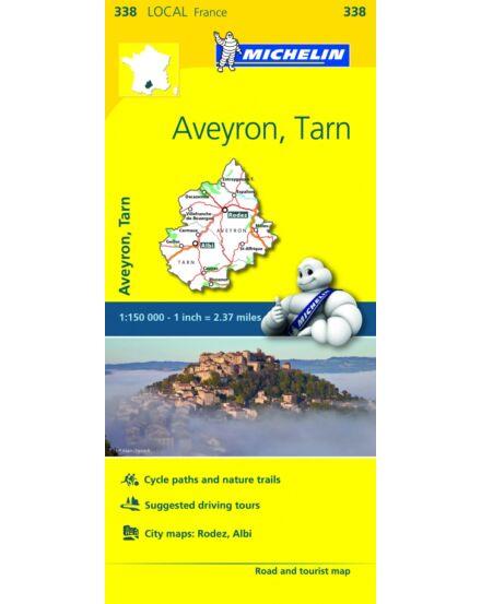 Cartographia  - Aveyron , Tarn résztérkép