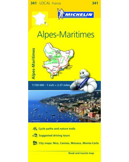 Cartographia  - Alpes Maritimes régiótérkép