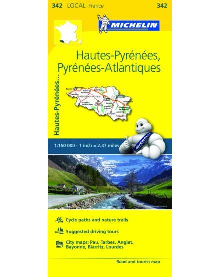 Cartographia  - Nyugat-Pireneusok résztérkép