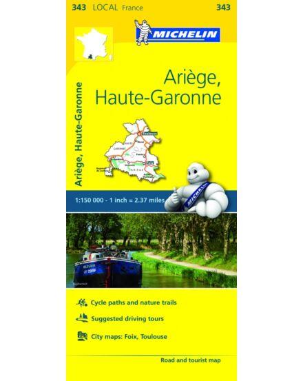 Cartographia  - Közép-Pireneusok (Ariege) résztérkép