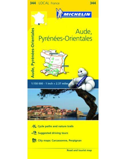 Cartographia  - Pireneusok-Kelet (Aude) résztérkép