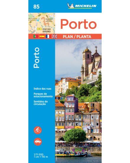Cartographia  - Porto térkép 9085 Michelin (2018)