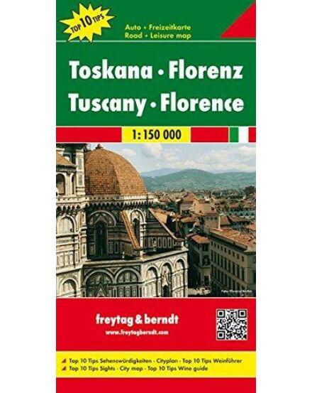 Cartographia  - Toszkána-Firenze térkép