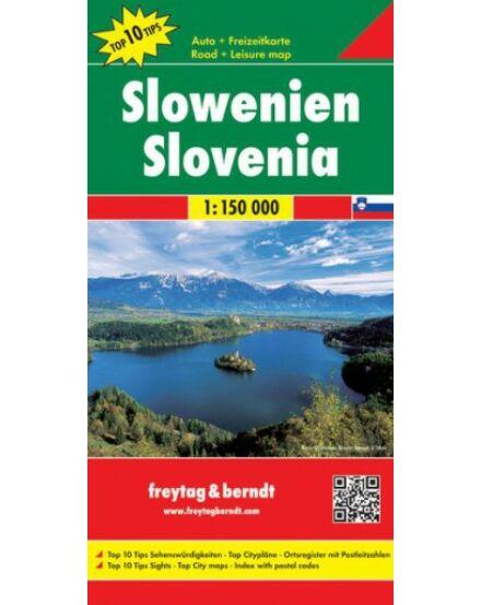 Cartographia  - Szlovénia térkép