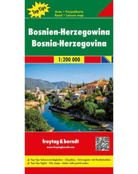 Cartographia  - Bosznia-Hercegovina térkép