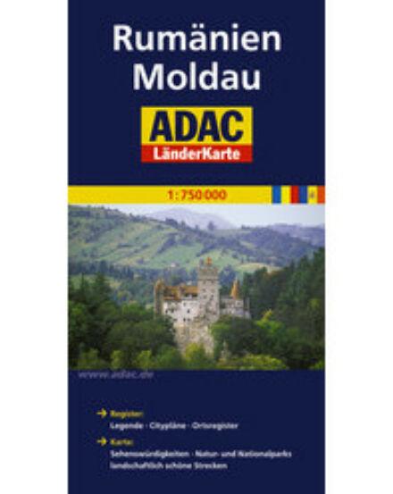 Cartographia  - Románia, Moldova térkép