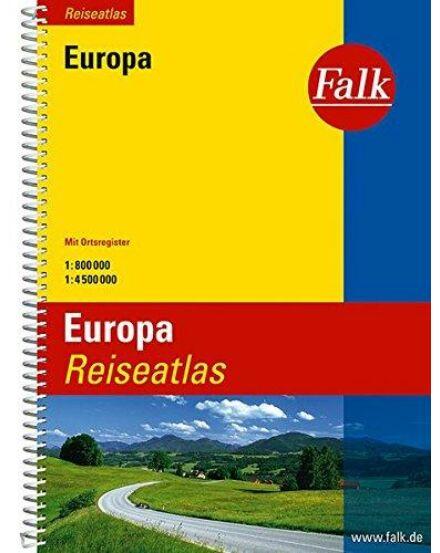 Cartographia  - Európa Reise Atlasz
