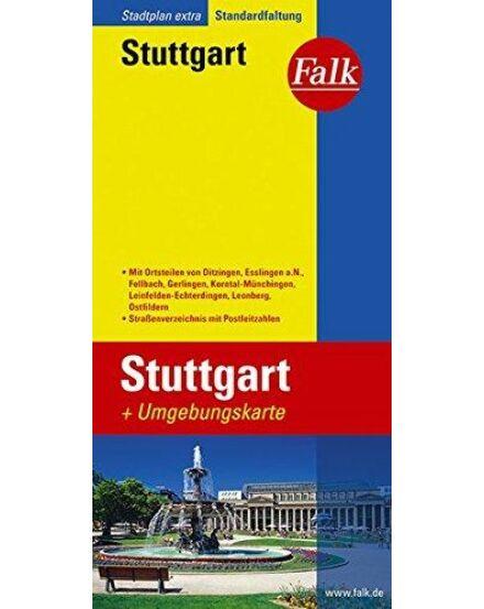 Cartographia  - Stuttgart várostérkép (Extra)
