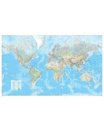 Cartographia  - Világtérkép politikai íves